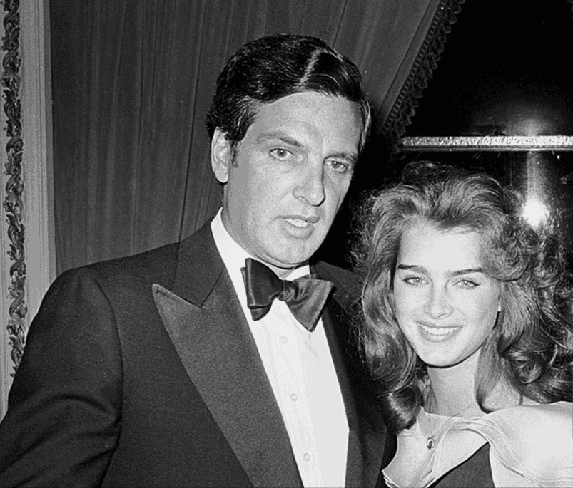 brooke shields - frank father