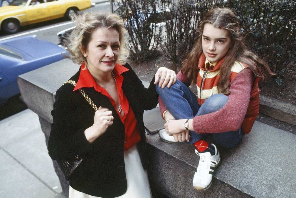 brooke shields - mother