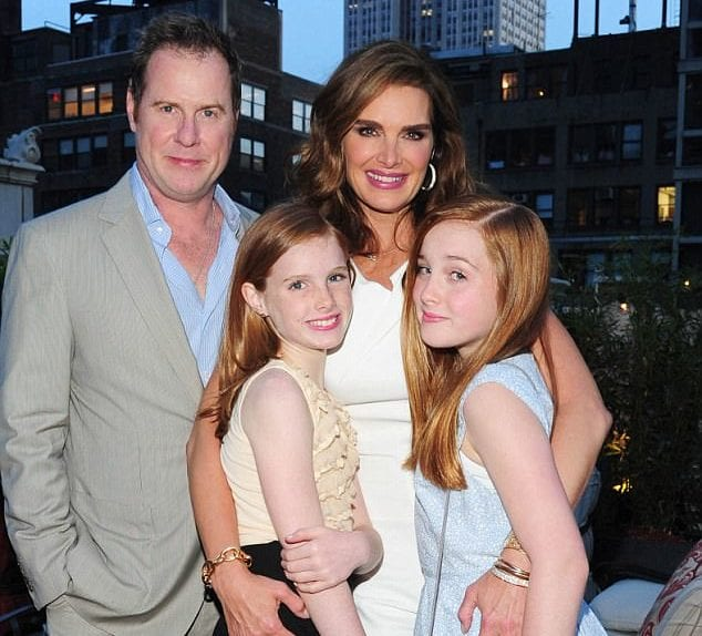 brooke shields - family