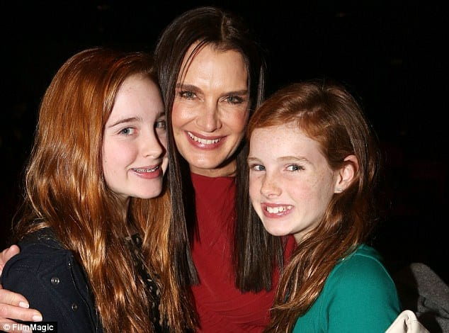 brooke shields - daughters