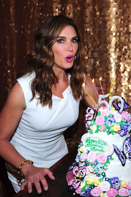 brooke shields - birthday