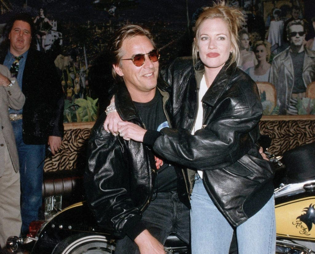 don johnson and melanie griffith relationship