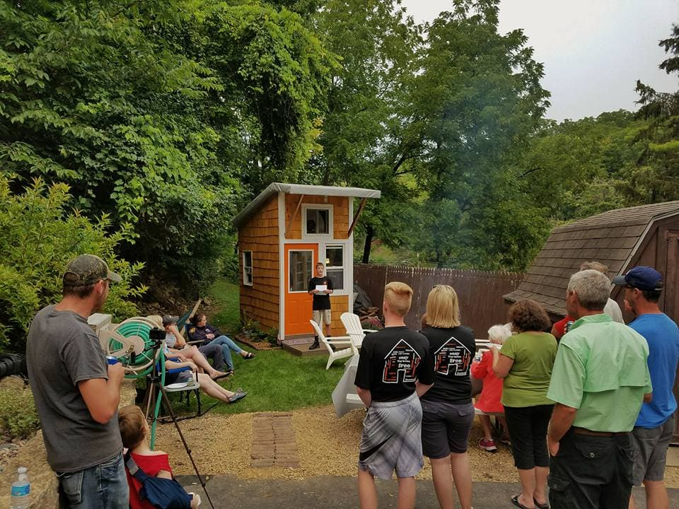 The 13-Year-Old Boy Who Built His Very Own Tiny Home