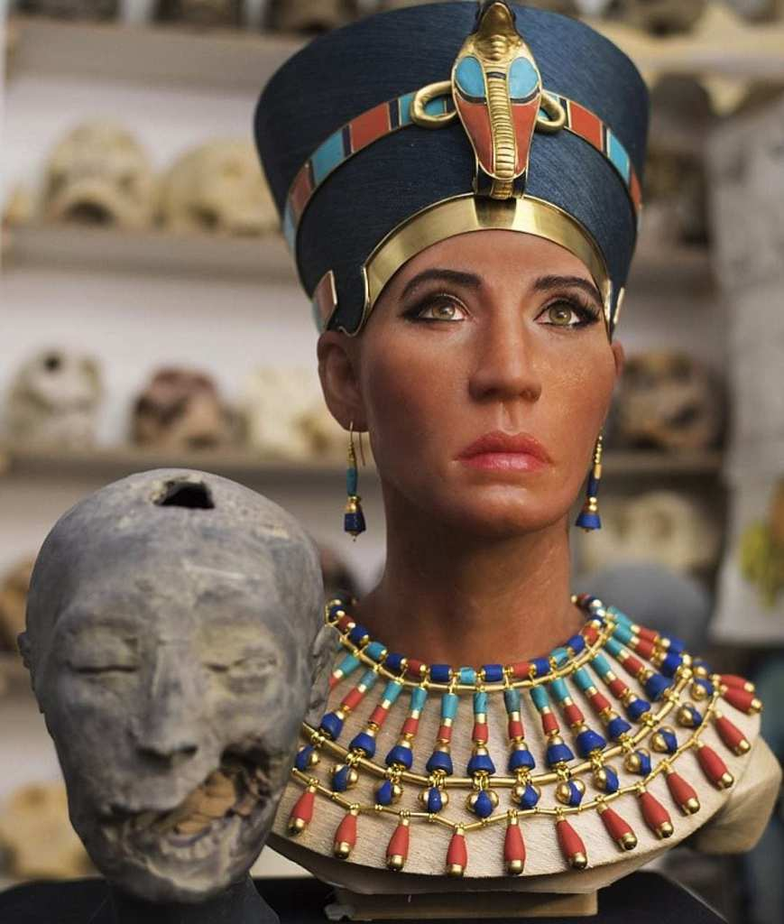 Queen Nefertiti Brought Back To Life Through Incredible 3D