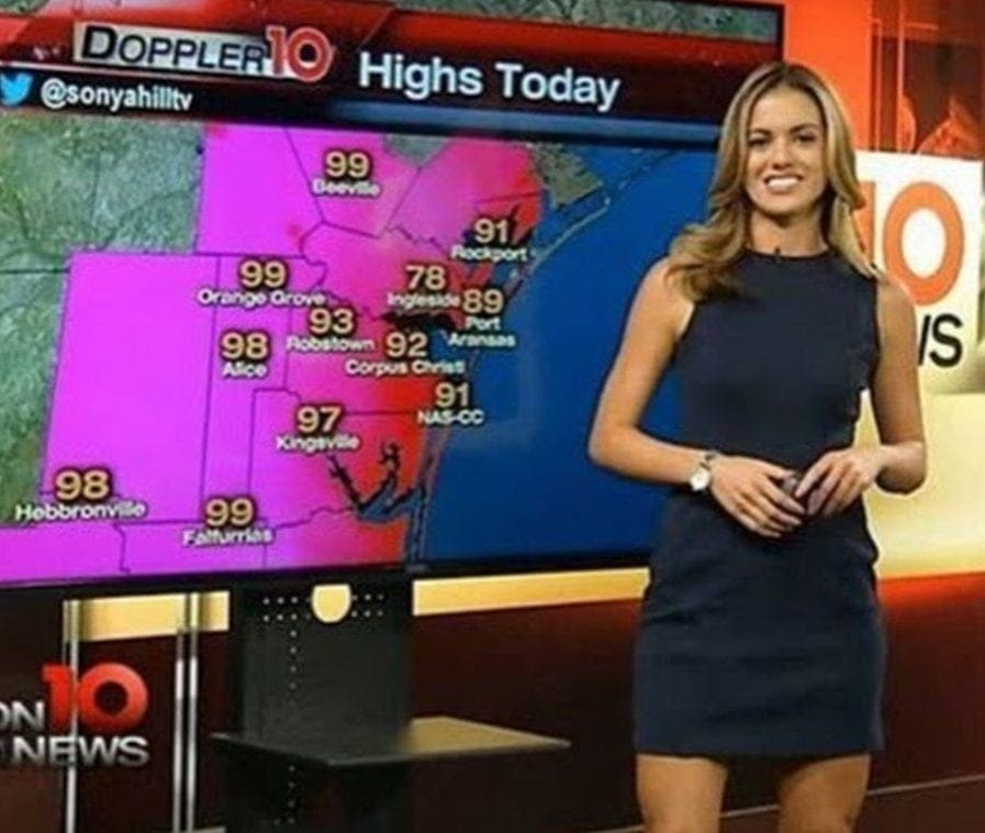 These Beautiful Weather Girls Are Sure To Brighten Up Your Day