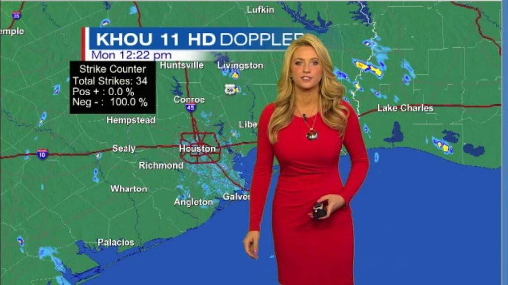 Khou Weather Map.These Beautiful Weather Girls Are Sure To Brighten Up Your Day