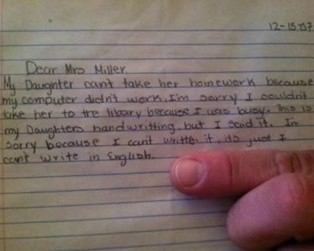 Try Not To Cry Laughing At These Ridiculous Absence Notes