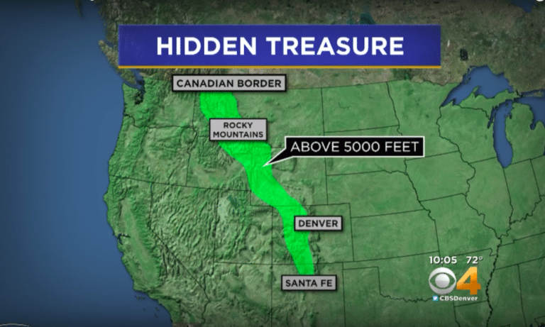 Man Hid Treasure Worth Millions In The Rockies – Then Left