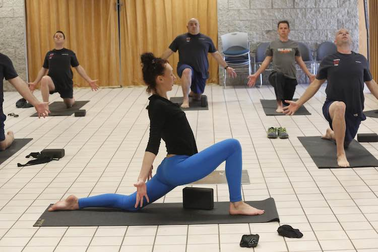 How One Yoga Teacher Is Helping First Responders With Depression Ninjajournalist