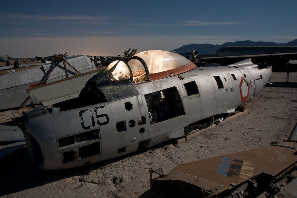 These Eerie Abandoned Airplane Graveyards Are All Over The World