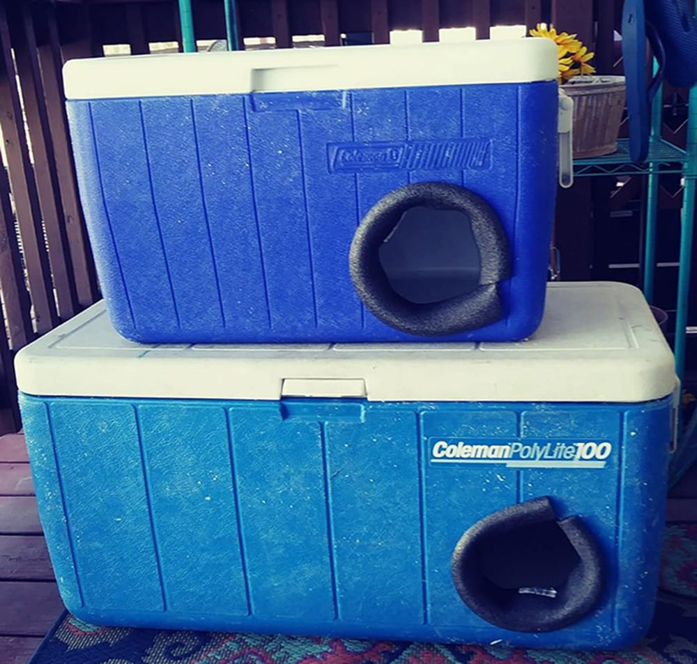 Old Recycled Coolers