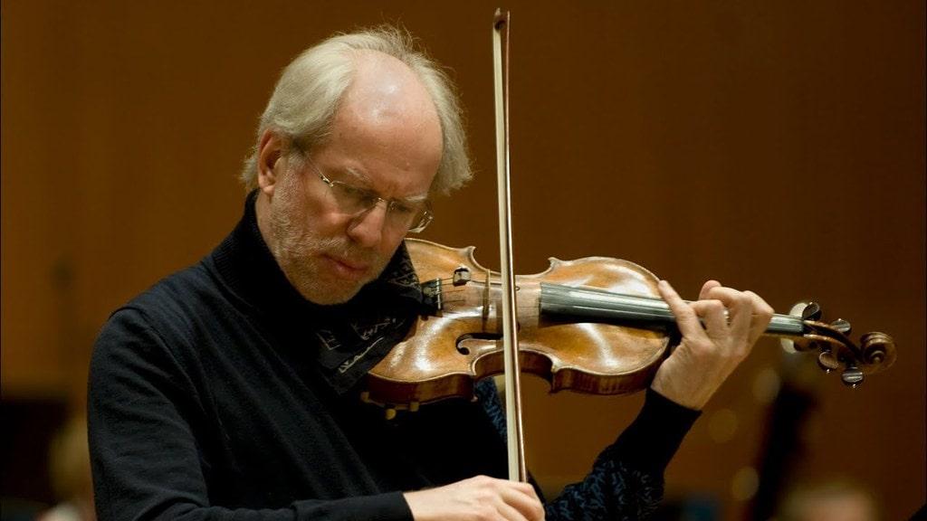 Master Latvian violinist Gidon Kremer