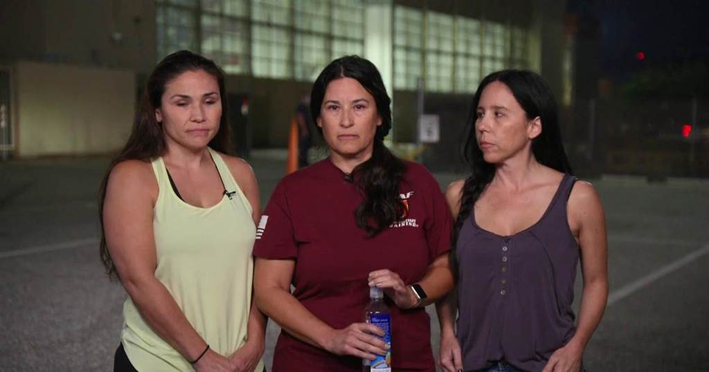 Three concerned women