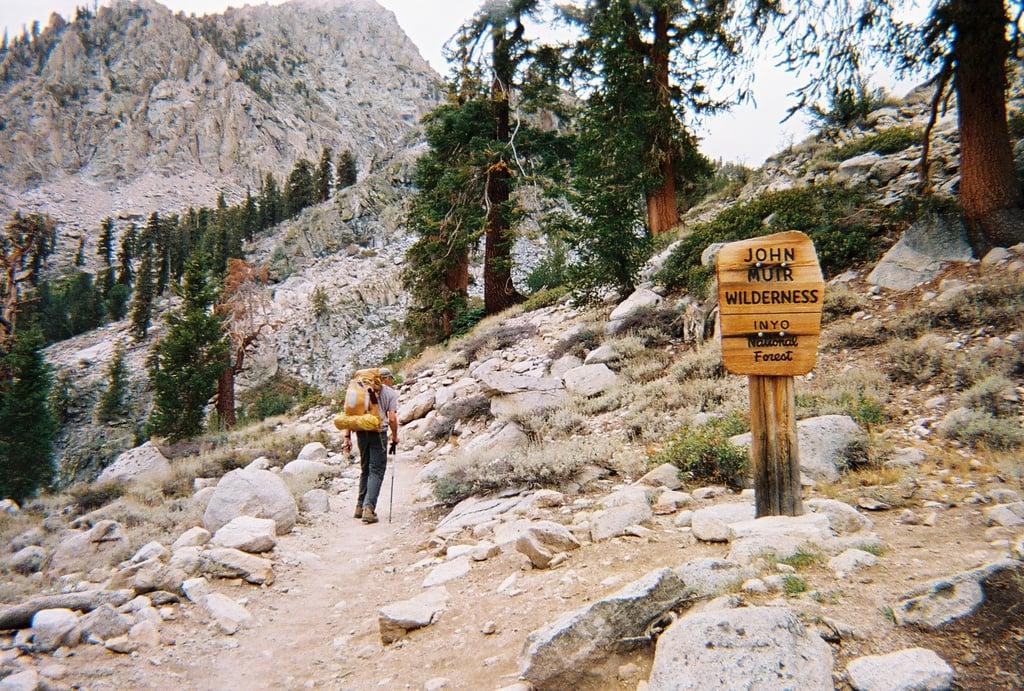 John Muir Trail in California