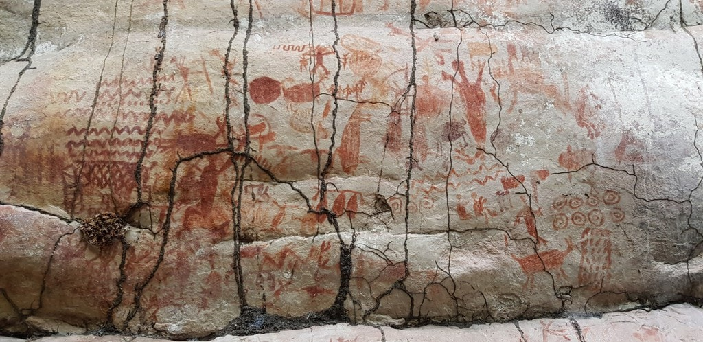 Detailed Images from the Cave Painting Complex