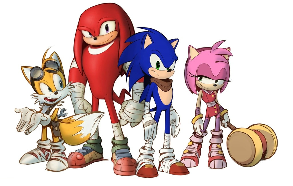 The Design of the Sonic Characters for the Sonic Boom Spin-off