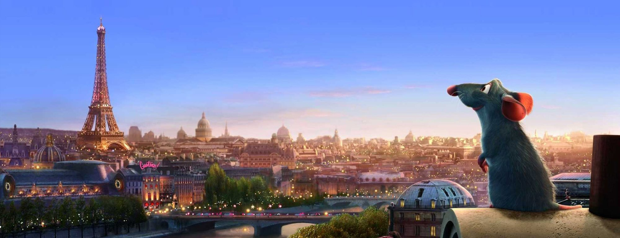 A snippet from the Ratatouille animation