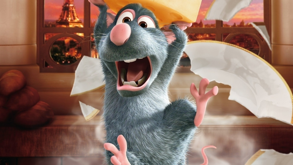 The mouse from the Ratatouille animation