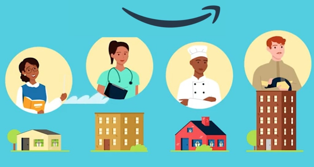 Amazon's investment concept