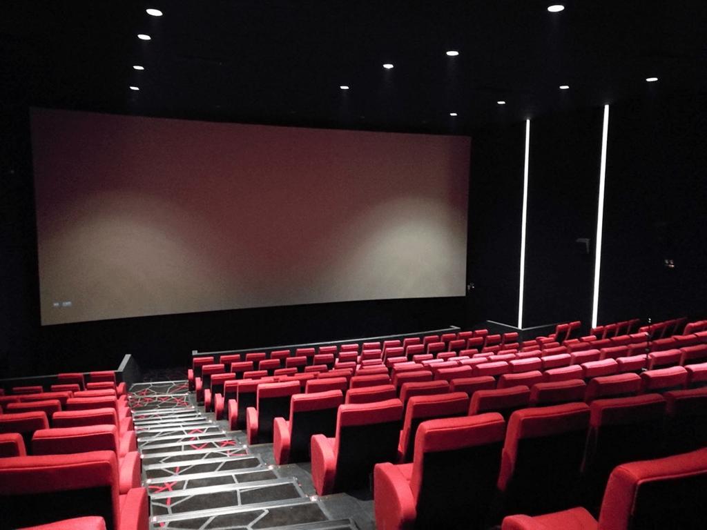 an empty cinema room